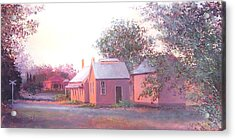 The Old Train Station Acrylic Print by Jan Matson