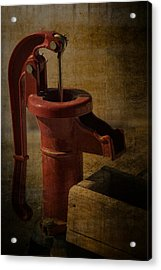 The Old Water Pump Acrylic Print