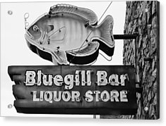The Old Watering Hole Acrylic Print