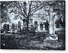 The Old Weathered Cross - Greensboro North Carolina II Acrylic Print by Dan Carmichael