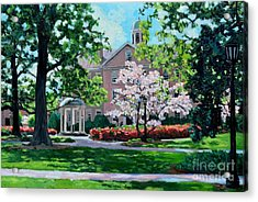 The Old Well At Unc Acrylic Print