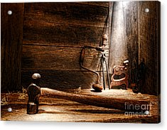 The Old Workshop Acrylic Print by Olivier Le Queinec