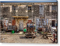 Acrylic Print featuring the photograph The Old Workshop by Uri Baruch