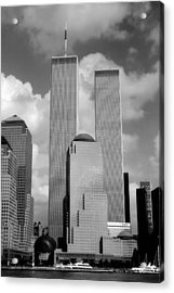 The Old Wtc Acrylic Print