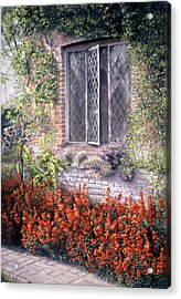 Acrylic Print featuring the painting The Open Window by Rosemary Colyer