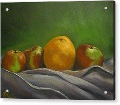 The Orange Acrylic Print