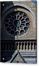 The Oratory Acrylic Print by Joseph Yarbrough
