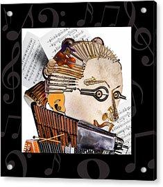 The Orchestra Acrylic Print by Alessandro Della Pietra
