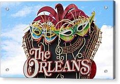 The Orleans Hotel Acrylic Print by Cynthia Guinn