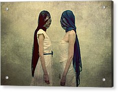 The Orphans Acrylic Print by Pawel Piatek