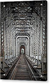 Acrylic Print featuring the photograph The Other Side  by Barbara Chichester