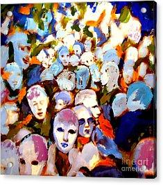 The Other Side Acrylic Print by Helena Wierzbicki