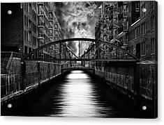 The Other Side Of Hamburg Acrylic Print by Stefan Eisele