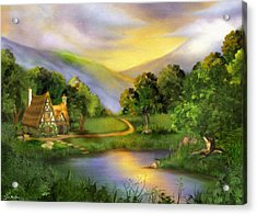The Other Side Of Oz Acrylic Print by Tyler Robbins