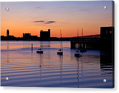 The Other Side Of The Harbor Acrylic Print