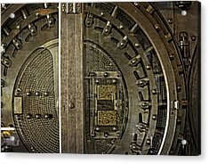 The Other Side Of The Vault Door Acrylic Print