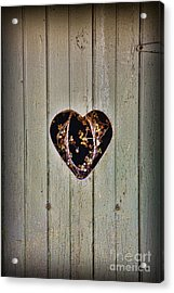 The Outhouse Of Amore Acrylic Print