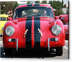 The Outlaw 356 Porsche Acrylic Print by Rita Kay Adams