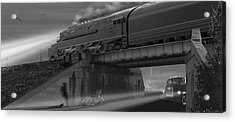 The Overpass 2 Panoramic Acrylic Print by Mike McGlothlen