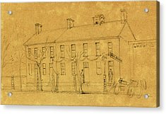 The Owens House Acrylic Print by Quint Lox