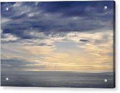 Acrylic Print featuring the photograph The Pacific Coast by Kyle Hanson