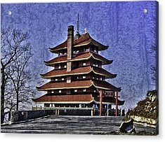 The Pagoda Acrylic Print