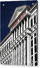 The Palace Of Caesar Acrylic Print by John Rizzuto
