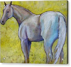 The Pale Horse Acrylic Print