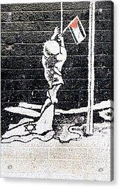 The Palestinian Flag Acrylic Print