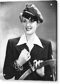 The Palm Beach Story, Mary Astor, 1942 Acrylic Print by Everett