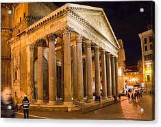 The Pantheon Acrylic Print