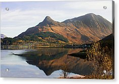 Acrylic Print featuring the photograph The Pap Of Glencoe by Jacqi Elmslie