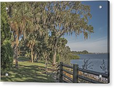 Acrylic Print featuring the photograph The Park by Jane Luxton
