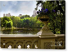 The Park On A Sunday Afternoon Acrylic Print