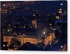 The Parliament Of Quebec Acrylic Print