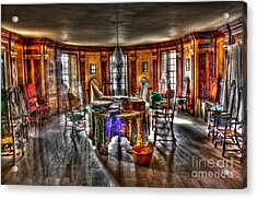The Parlor Visit Acrylic Print