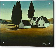 The Parson's House Acrylic Print