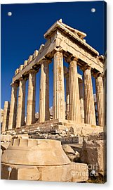 The Parthenon Acrylic Print by Brian Jannsen