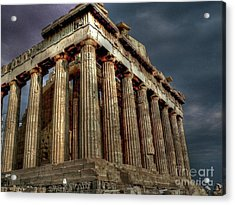 The Parthenon Acrylic Print by David Bearden