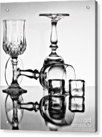 Acrylic Print featuring the photograph The Party's Over by Linda Blair