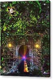 The Passageway  Acrylic Print by Michael Rucker