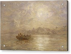 The Passing Of 1880 Acrylic Print by Thomas Danby