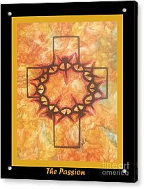 The Passion 2 By Saribelle Rodriguez Acrylic Print by Saribelle Rodriguez