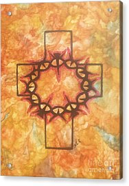 The Passion By Saribelle Rodriguez Acrylic Print by Saribelle Rodriguez