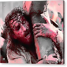 The Passion Of The Christ 'for Our Sins' Acrylic Print