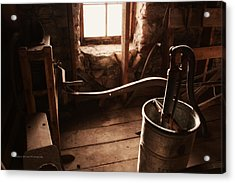 The Past Acrylic Print by Michele Richter