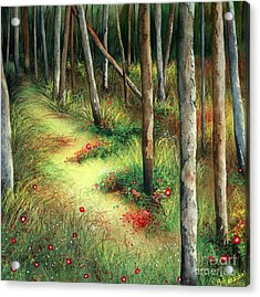 The Path Less Traveled Acrylic Print