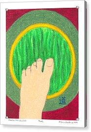 The Path - Mudra Mandala Acrylic Print