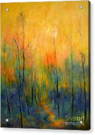 The Path To Forever Acrylic Print by Alison Caltrider