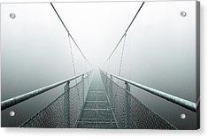 The Path To Infinity Acrylic Print by Max Zimmermann